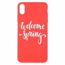 Чохол для iPhone X/Xs Welcome spring