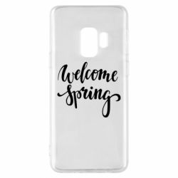 Чохол для Samsung S9 Welcome spring
