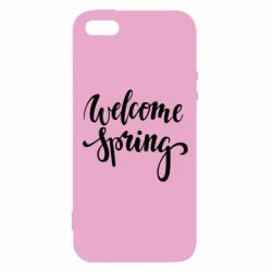 Чохол для iphone 5/5S/SE Welcome spring