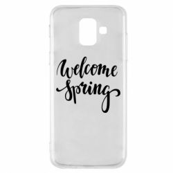 Чохол для Samsung A6 2018 Welcome spring