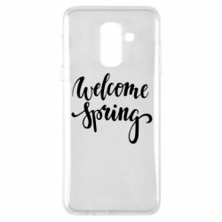 Чохол для Samsung A6+ 2018 Welcome spring