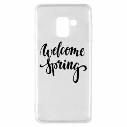 Чохол для Samsung A8 2018 Welcome spring
