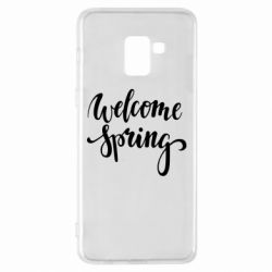 Чохол для Samsung A8+ 2018 Welcome spring