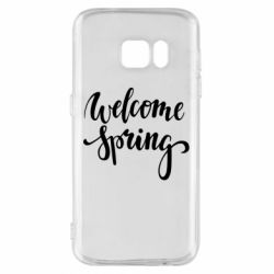 Чохол для Samsung S7 Welcome spring
