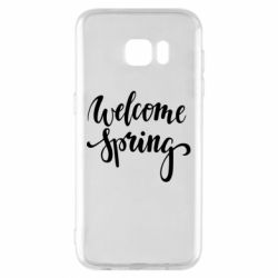 Чохол для Samsung S7 EDGE Welcome spring