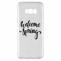 Чохол для Samsung S8+ Welcome spring