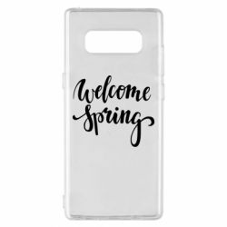 Чохол для Samsung Note 8 Welcome spring