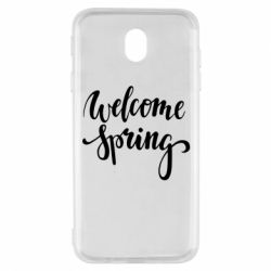 Чохол для Samsung J7 2017 Welcome spring
