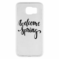 Чохол для Samsung S6 Welcome spring