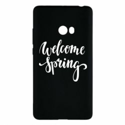 Чохол для Xiaomi Mi Note 2 Welcome spring