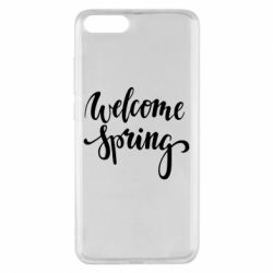 Чохол для Xiaomi Mi Note 3 Welcome spring