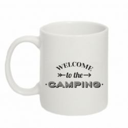 Кружка 320ml Welcome to the camping