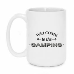 Кружка 420ml Welcome to the camping