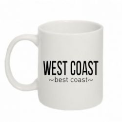 Кружка 320ml West coast Best coast