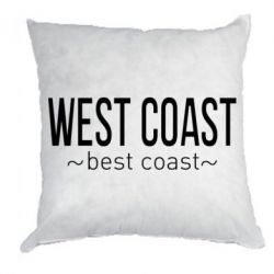 Подушка West coast Best coast