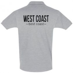 Футболка Поло West coast Best coast