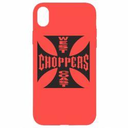 Чехол для iPhone XR West Coast Choppers - FatLine