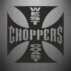 Наклейка West Coast Choppers - FatLine