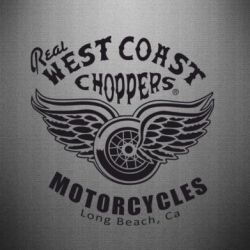 Наклейка West Coast Choppers - FatLine