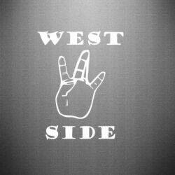 Наклейка West Side - FatLine