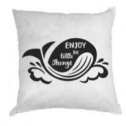Подушка Whale: Enjoy the little things
