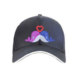 Кепка Whale with heart