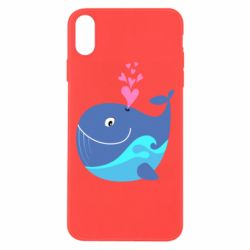 Чохол для iPhone Xs Max Whale with smile