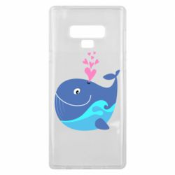 Чохол для Samsung Note 9 Whale with smile