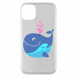 Чохол для iPhone 11 Pro Whale with smile