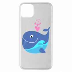 Чохол для iPhone 11 Pro Max Whale with smile