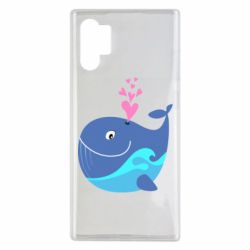 Чохол для Samsung Note 10 Plus Whale with smile