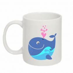 Кружка 320ml Whale with smile