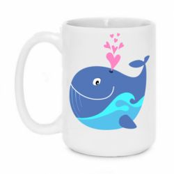 Кружка 420ml Whale with smile