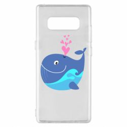 Чохол для Samsung Note 8 Whale with smile