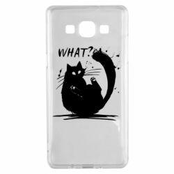 Чохол для Samsung A5 2015 What cat