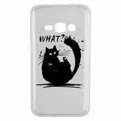 Чохол для Samsung J1 2016 What cat