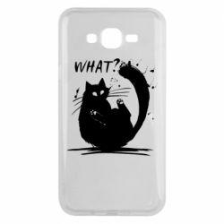Чохол для Samsung J7 2015 What cat