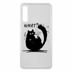 Чохол для Samsung A7 2018 What cat