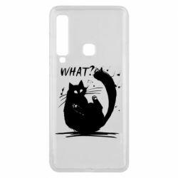 Чохол для Samsung A9 2018 What cat