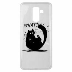 Чохол для Samsung J8 2018 What cat