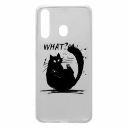 Чохол для Samsung A60 What cat