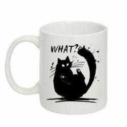 Кружка 320ml What cat