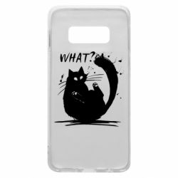 Чохол для Samsung S10e What cat