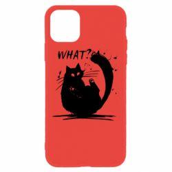 Чохол для iPhone 11 What cat
