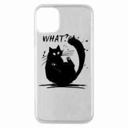 Чохол для iPhone 11 Pro What cat