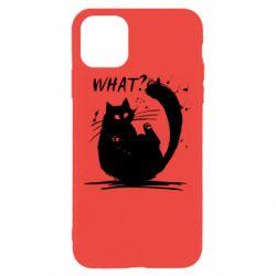 Чохол для iPhone 11 Pro Max What cat