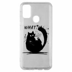 Чохол для Samsung M30s What cat