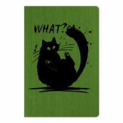Блокнот А5 What cat