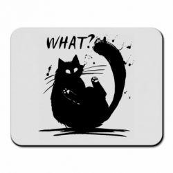 Килимок для миші What cat