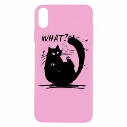 Чохол для iPhone X/Xs What cat